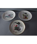 3 WIBC Bowling National Tournament Plates 1994-1996, Exc. Condition - $15.88