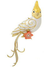 Hallmark Clever Cockatiel Surprise - WHITE -  Keepsake Ornament 2020 - $19.79