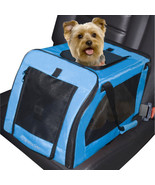 DOG CAT CAR SEAT AND CARRIER IN ONE tote pets up to 20 LBS Pet Gear Carr... - $48.46