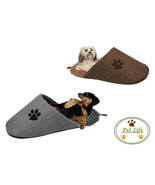 DOG BED DOG SLIPPER BED 28.5 INCH LONG PLUSH BED IS ECO FRIENDLY SHIPS F... - $31.84 CAD
