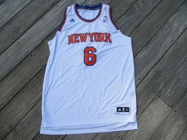 9Y/TYSON CHANDLER NEW YORK KNICKS #6 JERSEY/ADIDAS/2XL! - $39.55