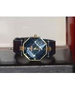 Pre-Owned Women's Blue & Gold Fashion Rhineston... - $6.44