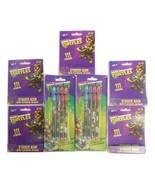 Lot of 7 Items Teenage Mutant Ninja Turtles 5 S... - $18.99