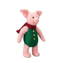 Disney Piglet Plush - Christopher Robin - Medium - 13 Inch - $28.61