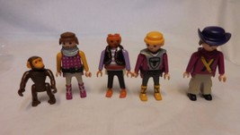 Playmobil Lot  People Figures plus Monkey - $8.53