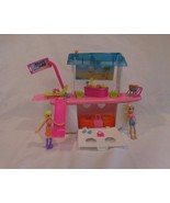 Polly Pocket Doll Boat & Cruise Ship with Fun Accessories and Dolls! - $11.92