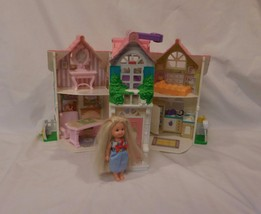 Sweet Streets Country Cottage Play Set Dollhouse Accessories  Doll Fisher Price - $19.23