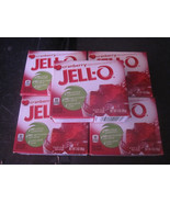 Jello Cranberry Gelatin Dessert 5-3 oz Boxes - $7.19