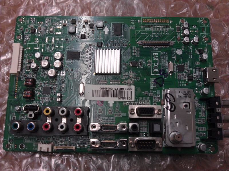 EBU60680850 Main Board From LG 42LH30-UA.AUSDLUR LCD TV