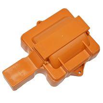 Distributor Cap w/ Rotor & Coil Cover Kit SBC BBC Chevy 65K Coil 8 CYL Orange image 9