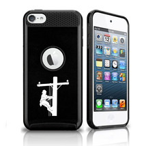 For Apple iPod Touch 5th 6th Shockproof Hard Case Lineman Electric Pole ... - $14.99