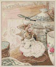 "Counted Cross Stitch  B. potter's two mice married 13.79"" x 16.43""  L1143 - $3.99"
