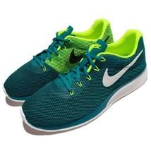 Men's Nike Tanjun Racer Blustery Sail Volt White  Running Shoes  , MSRP ... - $69.99