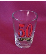 50 And The Legend Lives On 2 oz Shot Glass Barware - $4.99