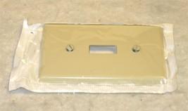 Leviton 86001 -1-Gang Toggle Switch Wallplate, Standard Size, Ivory- Set of 5 - $2.50