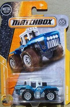 MATCHBOX MBX CONSTRUCTION SERIES ACRE MAKER TRACTOR IN BLUE #50/125 - $4.95