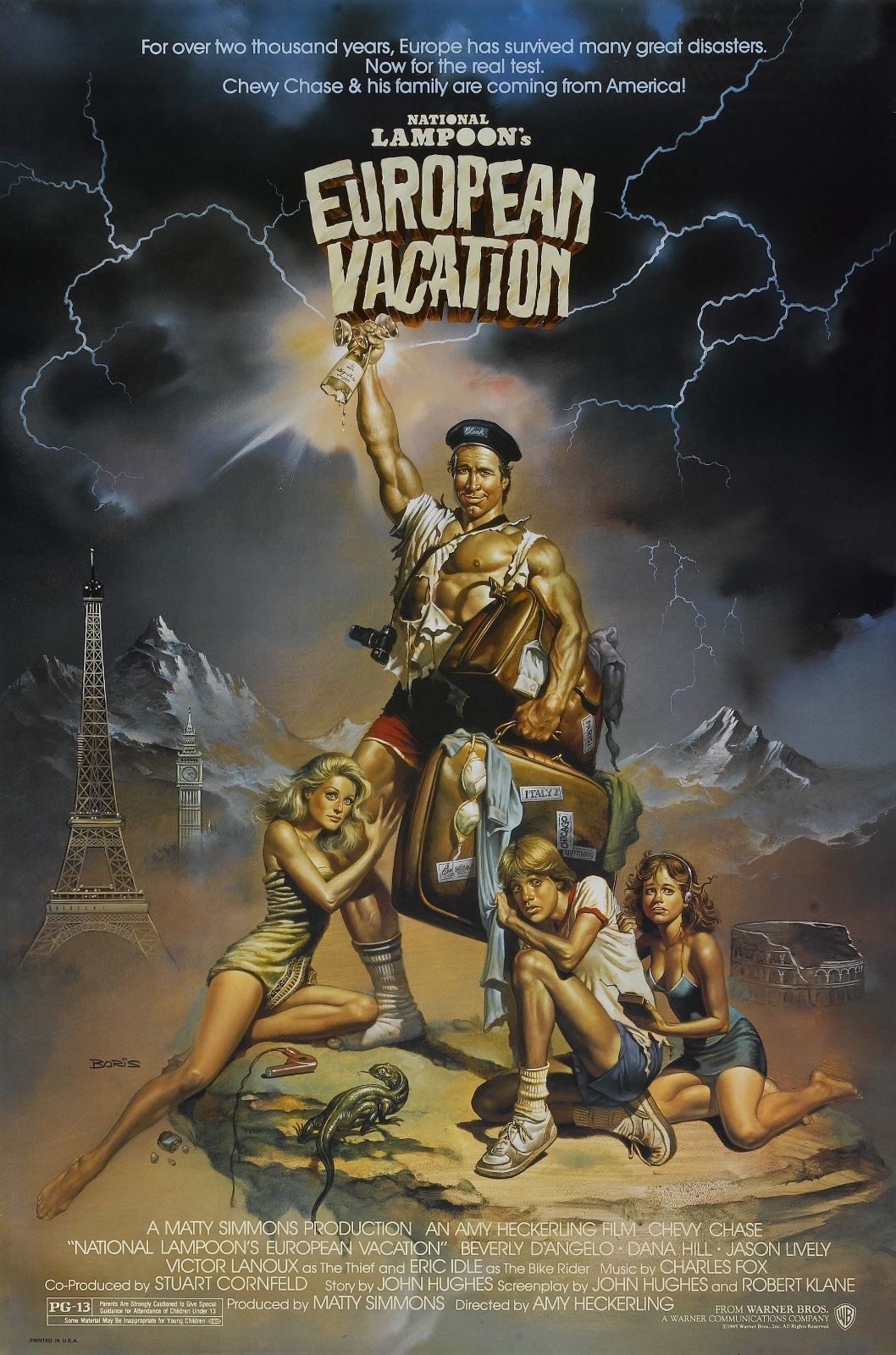 National Lampoon Vacation Movie Poster 24x36 Chevy Chase