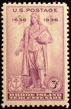 1936 3c Rhode Island Settlement Scott 777 Mint F/VF NH - $0.99
