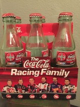 2000 Coca-Cola Racing Family Six Pack NASCAR Empty Bottles DALE EARNHARDT - $19.98