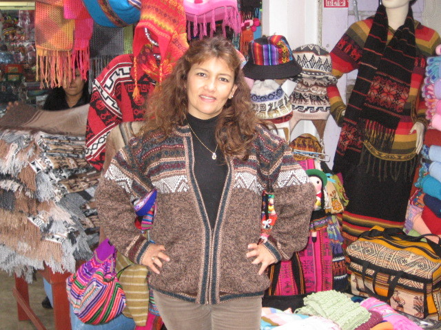 Ethno designed cardigan,jacket made of Alpaca wool