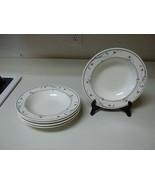 Mikasa Annette ~ Set of 5 Rimmed Bowls ~ 9 1/4 Inch - $44.54