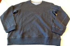 Men's Covington V- Neck Sweater Shirt MEDIUM Navy Blue NEW W Tags - $29.69