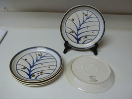 Mikasa Lifestyle Wind Blown ~ Set of 5 Salad Plates ~ Stoneware - $36.62