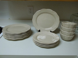 Waterford Great Room Jasmine Pearl ~ 16 Pc Set ~ Platters & Bowls - $197.99