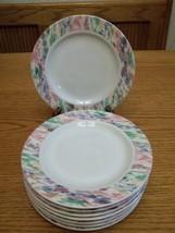 Vitromaster Stoneware Impression Lunch Plates ~ Set of 8 - $34.64
