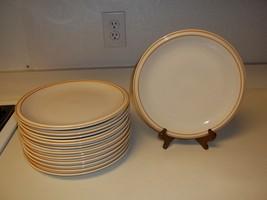 Sheffield Strawberries and Cream Stoneware Dinner Plates ~ Set of 8 - $89.09