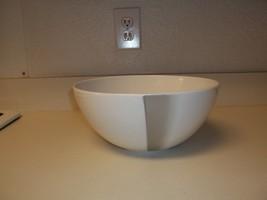 Dansk Linea Wedge White Large Serving Bowl ~ Excellent - $39.59