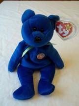 """Ty Beanie Baby """" Clubby """" The Blue Bear - $8.90"""