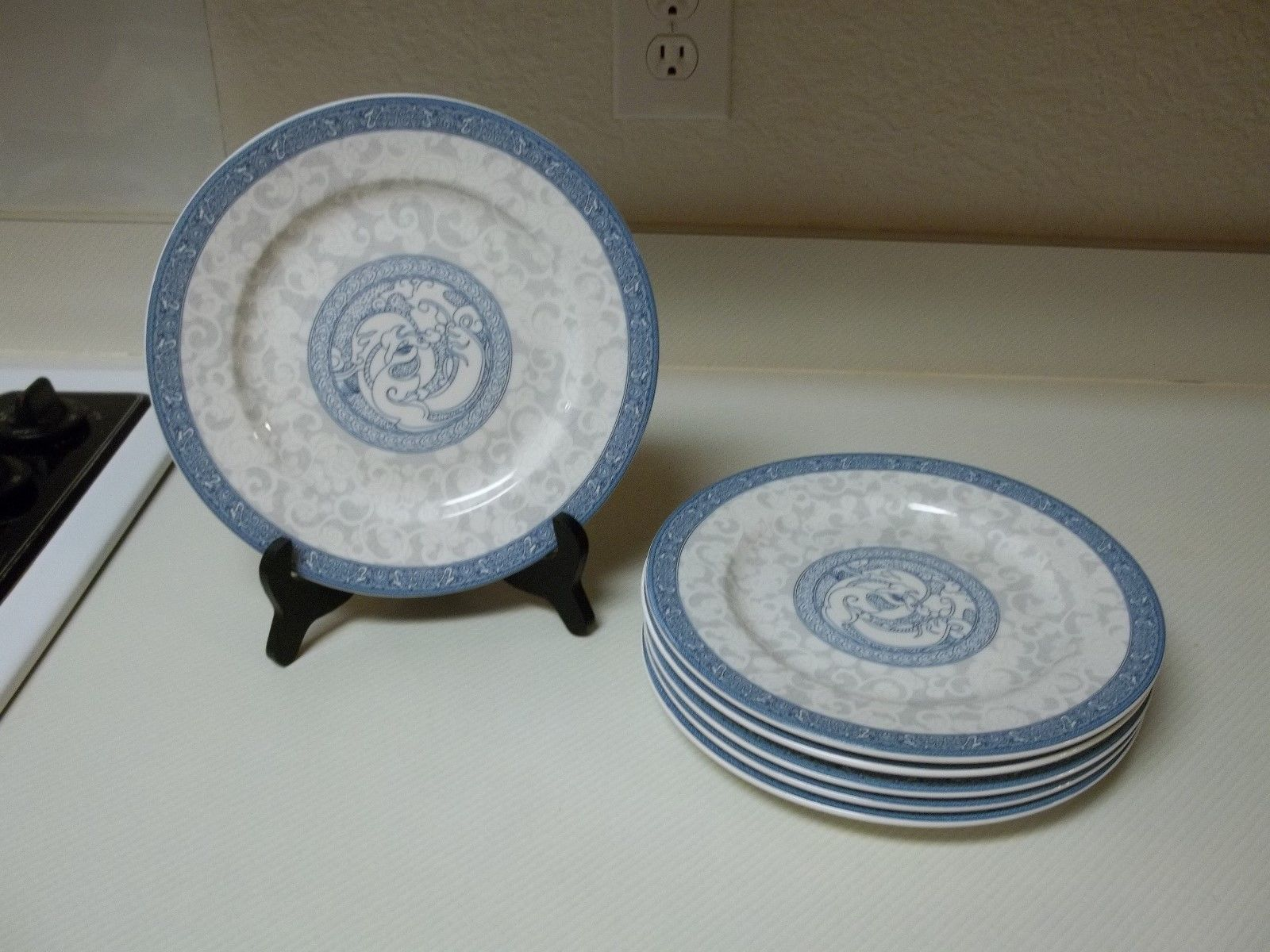 S l1600 & Cames Durable China Blue White Gray Set of 6 and similar items