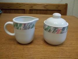 Vitromaster Stoneware Impression Creamer & Sugar Bowl with Lid - $28.70