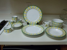 Studio Nova Tea Rose ~ 18 Piece Set ~ Plates Bowls Cups - $91.07 & Studio Nova Plates: 21 listings