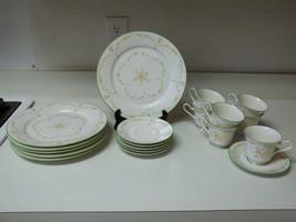 Noritake Ivory China ~ Debut ~ Flowers ~ 19 Pie... - $79.18