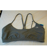 Champion Swimwear Bikini Top Gray Size Large  New W Tags $44 - $21.77