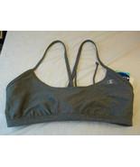 Champion Swimwear Bikini Top Gray Size XLarge  New W Tags $44 - $21.77