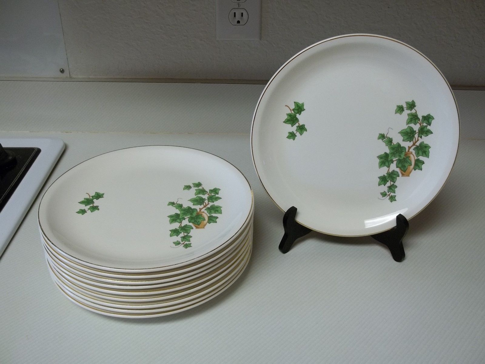 S l1600 & Paden City Pottery USA Set of 10 Dinner and 17 similar items