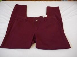 Women's Juniors Arizona Super Skinny Slender Fit Jeans Deep Ruby Sz 24 NEW - $26.72