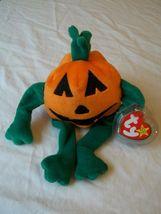 """Ty Beanie Baby """" Pumkin """" The Pumpkin - $8.90"""