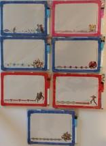 DRY ERASE WHITEBOARDS FOR KIDS 2 Sided Loop Marker SELECT Disney Marvel ... - $2.99