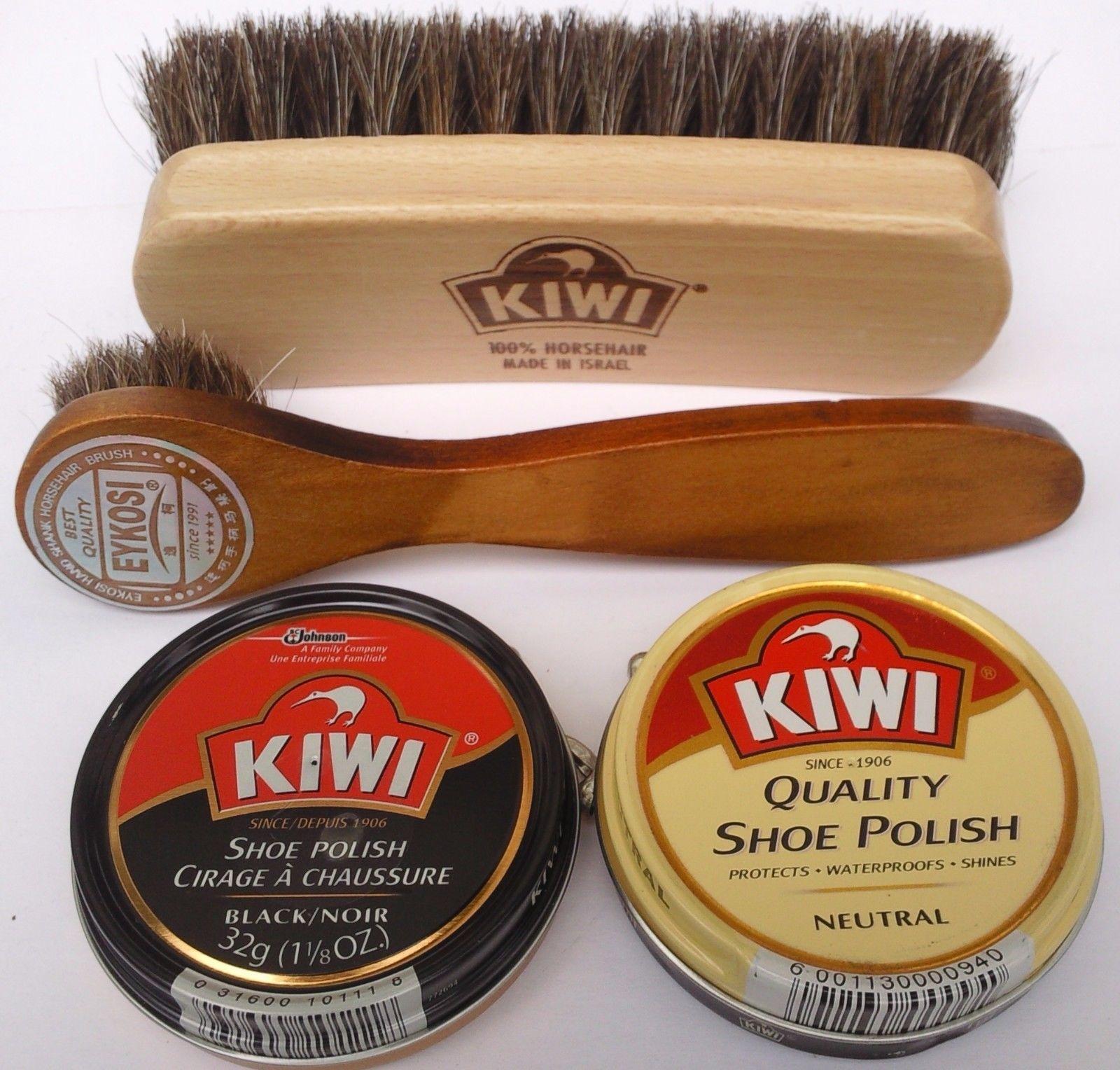 how to use kiwi shoe polish sponge
