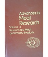 Advances in Meat Research: Vol. 3  Restructured Meat and Poultry Product... - $14.84