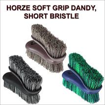 HORZE WESTERN HORSE SOFT GRIP DANDY BRUSH SHORT BRISTLE - $10.95
