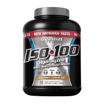 Dymatize ISO 100 Post Workout and Recovery Supplements, Gourmet Chocolat... - $524.63