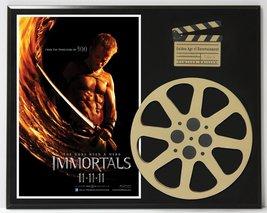 Immortals With Henry Cavill & Mickey Rourke Ltd Edition Movie Reel Display - $66.45