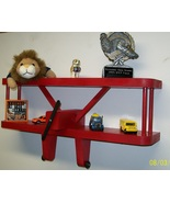 """Airplane Shelf - Large 18"""" Wide Display Shelf For Aviation Collectors, K... - $38.99"""