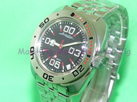 New Russian Vostok Auto Amphibian Diver Watch Amphibia. 710843 - $58.50