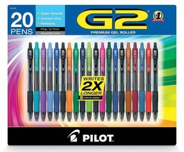 Pilot G2 Assorted Colors Gel Pen (20 ct.) - $29.45